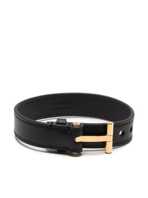 Armband mit T-Buckle Gold