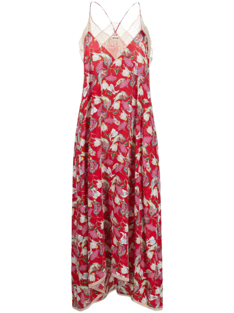 'Risty Paisley Psyche' Kleid