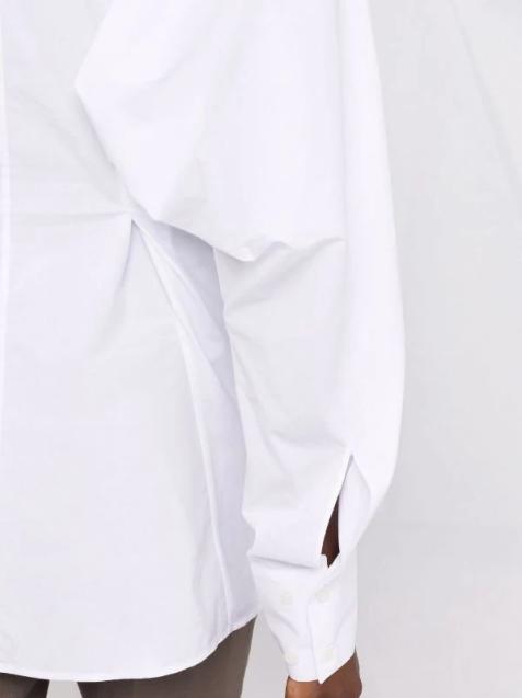 Acne Studios taillierte Bluse mit Fledermausärmel